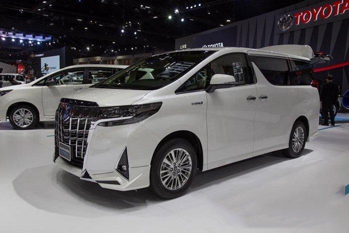 Thông số kỹ thuật xe Toyota AlphardLuxury 2019