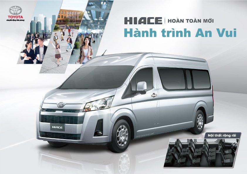 Thông số kỹ thuật xe Toyota Hiace 2020