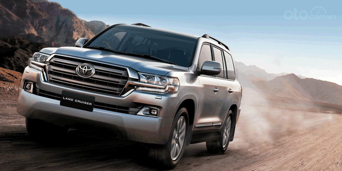 Thông số kỹ thuật xe Toyota Land Cruiser tại Việt Nam